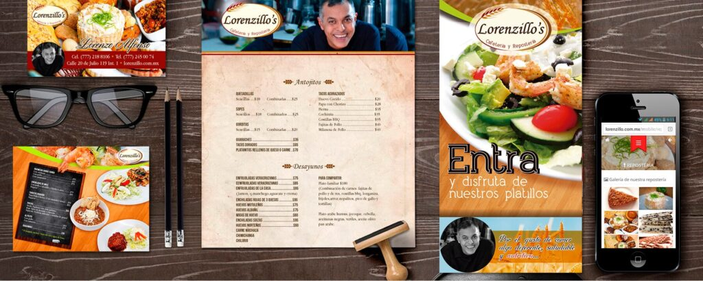 restaurante identidad visual corporativa